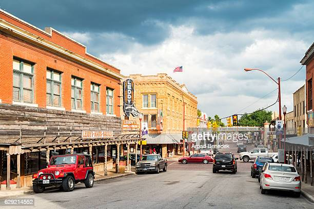 stockyards in fort worth texas - fort worth stock pictures, royalty-free photos & images
