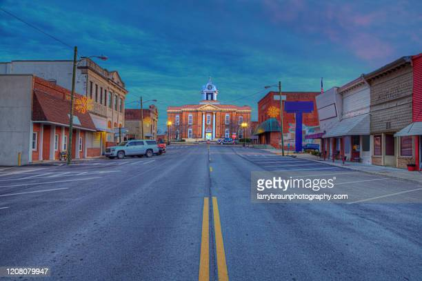 stoddard county courthouse - small town stock pictures, royalty-free photos & images