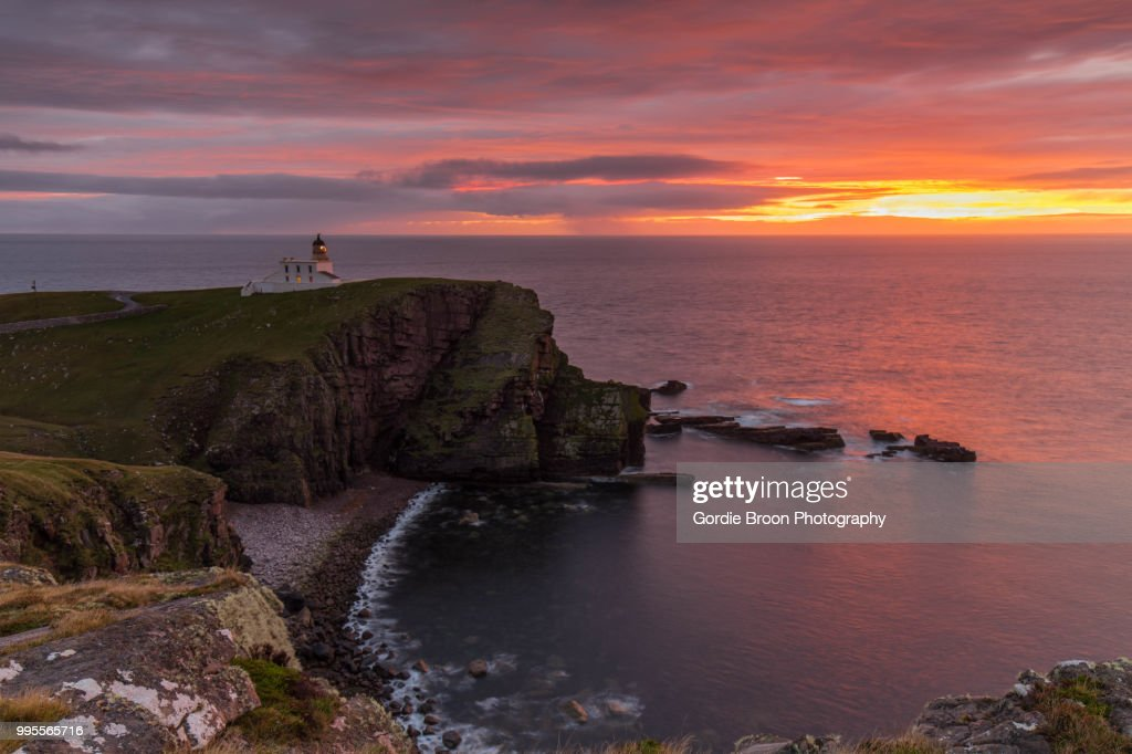 Stoer Head Lighthouse. : Stock Photo