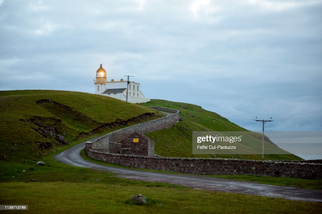 Stoer Head Lighthouse, Scotland : Stock Photo