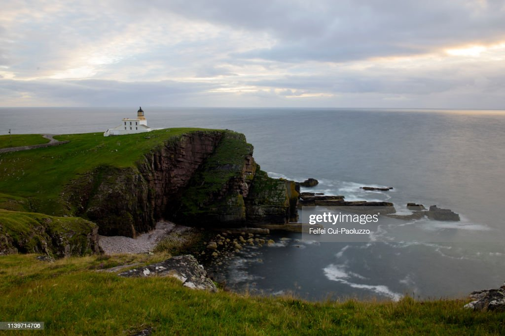 Stoer Head Lighthouse, Scotland : Stock Photo