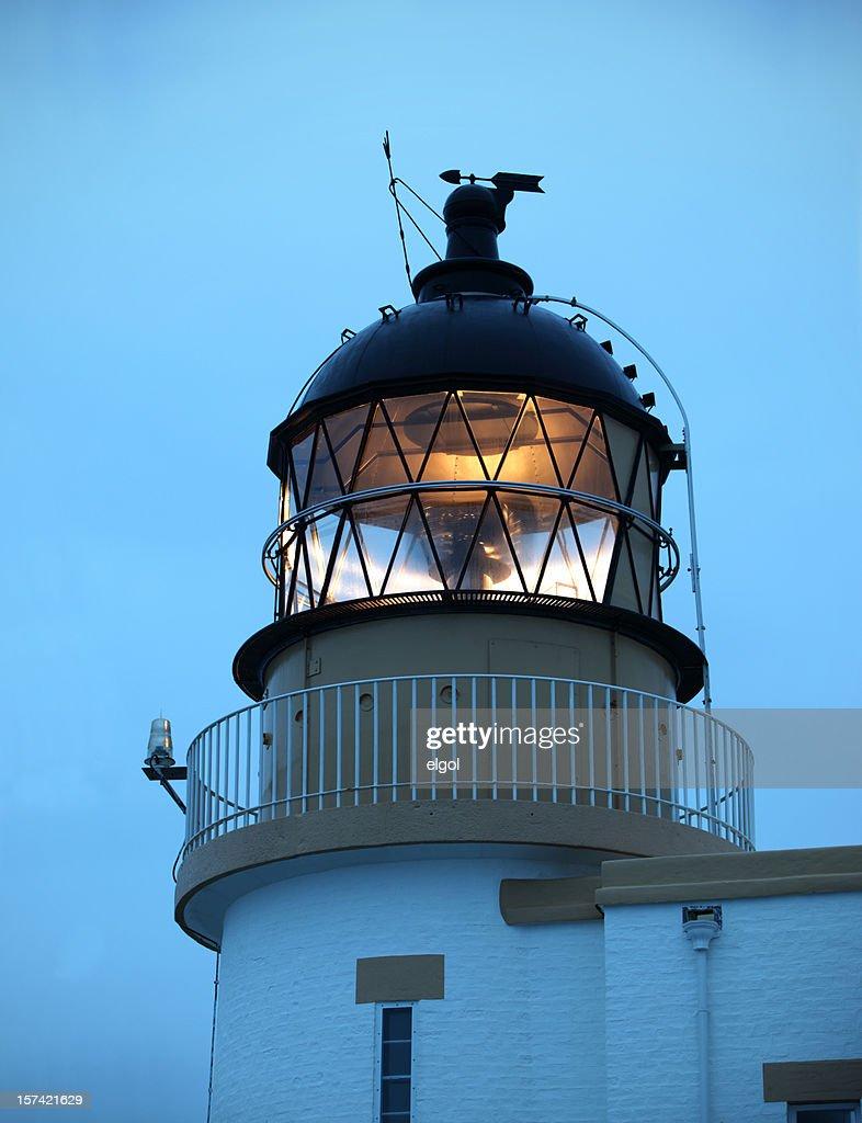 Stoer Lighthouse, North West Scotland : Stock Photo