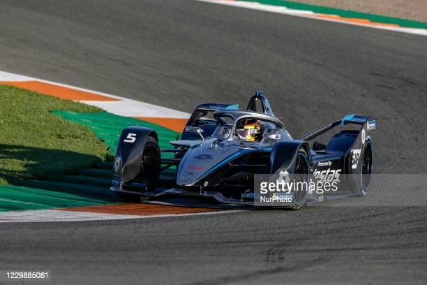 Stoffel , Mercedes-Benz EQ Formula E Team, Mercedes-Benz EQ Silver Arrow 02, action during the ABB Formula E Championship official pre-season test at...