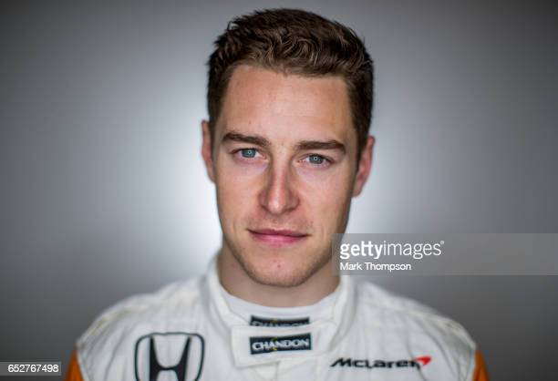 Stoffel Vandoorne of Belgium and McLaren Honda poses for a portrait during the final day of Formula One winter testing at Circuit de Catalunya on...