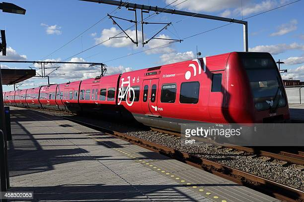 S-toget Commuter train in Copenhagen