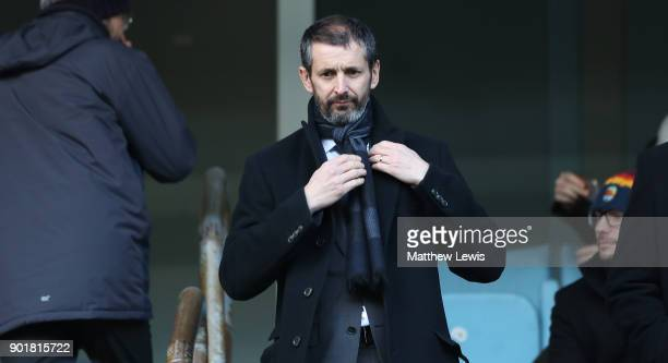 Stoke City Chief Executive Tony Scholes looks on prior to The Emirates FA Cup Third Round match between Coventry City and Stoke City at Ricoh Arena...