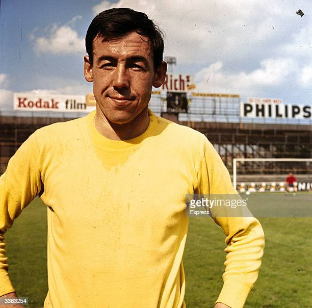 Stoke City goalkeeper Gordon Banks