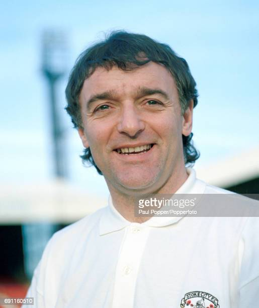 Stoke City manager Lou Macari at the Victoria Ground in StokeonTrent circa 1995
