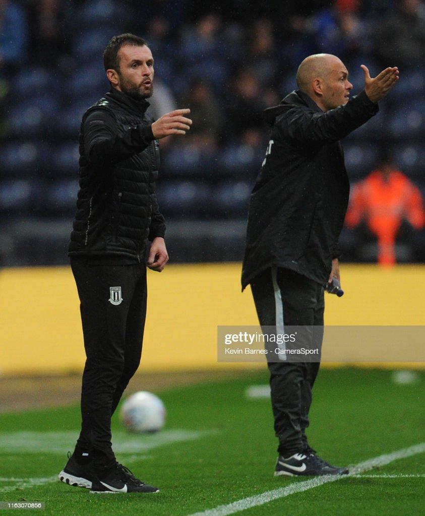Preston North End v Stoke City - Sky Bet Championship : News Photo