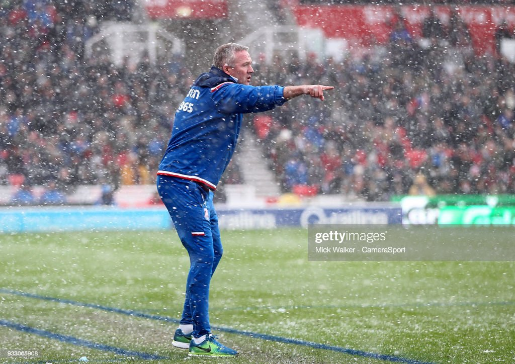 Stoke City v Everton - Premier League : News Photo