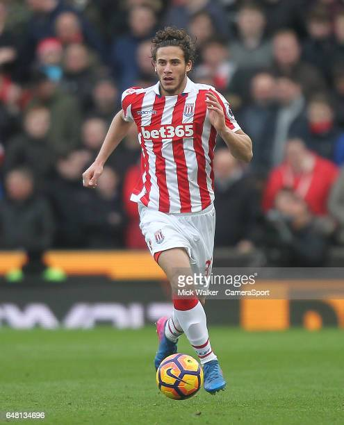TRENT ENGLAND MARCH Stoke City's Ramadan Sobhi during the Premier League match between Stoke City and Middlesbrough at Bet365 Stadium on March 4 2017...