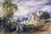 Stoke Poges Church' Buckinghamshire 1833