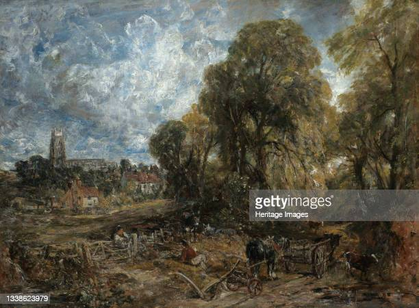 Stoke-by-Nayland, 1836. Artist John Constable.