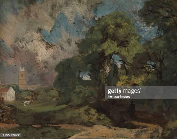 Stoke-by-Nayland, circa 1810-11. Artist John Constable.