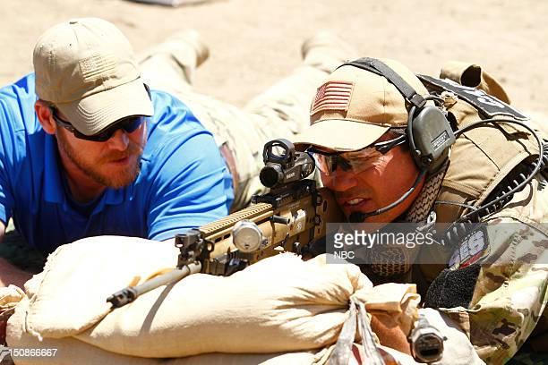 STRIPES Stolen IntelligenceHarbor Demolition Episode 105 Pictured Chris Kyle Dean Cain