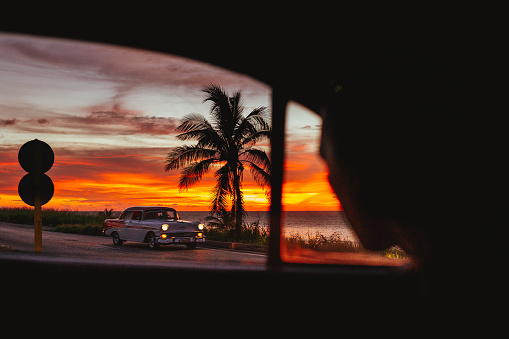 Stolen Sunset In Cuba - gettyimageskorea