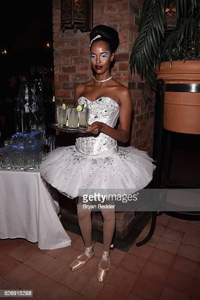 A Stoli Elit Ballerina attends the Gisele Bundchen Spring Fling book launch on April 30 2016 in New York City