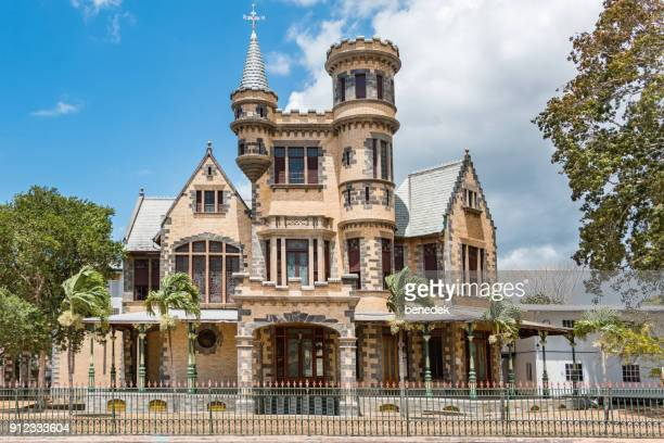 Stollmeyer's Castle in Port of Spain Trinidad and Tobago
