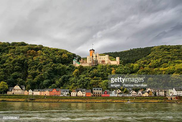 stolzenfels, germany - rhine river stock pictures, royalty-free photos & images