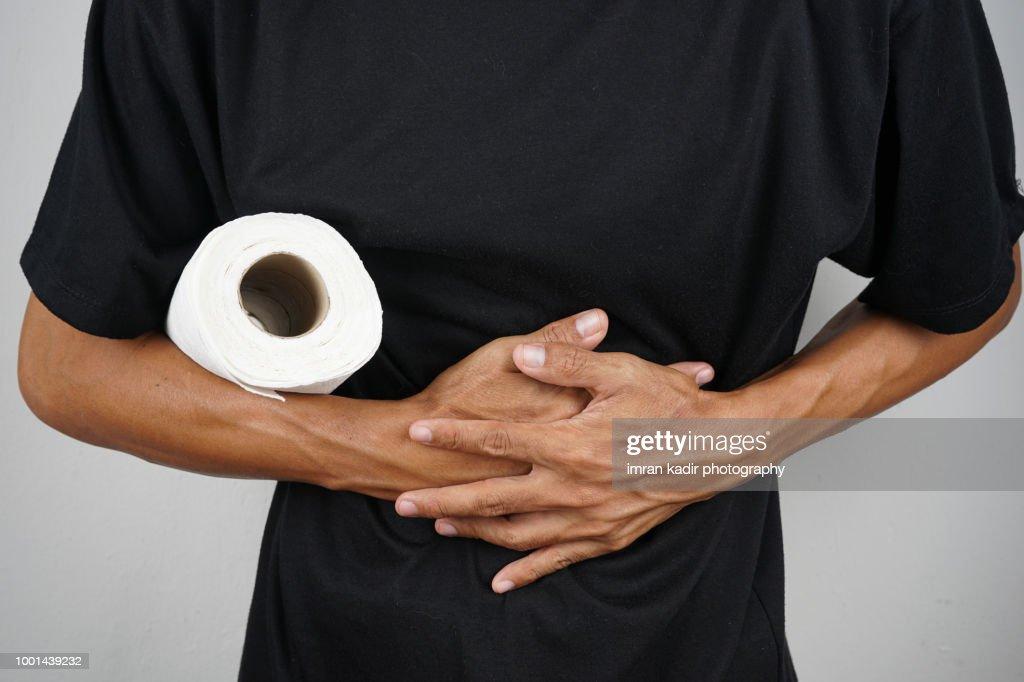 stomachache : Stock Photo