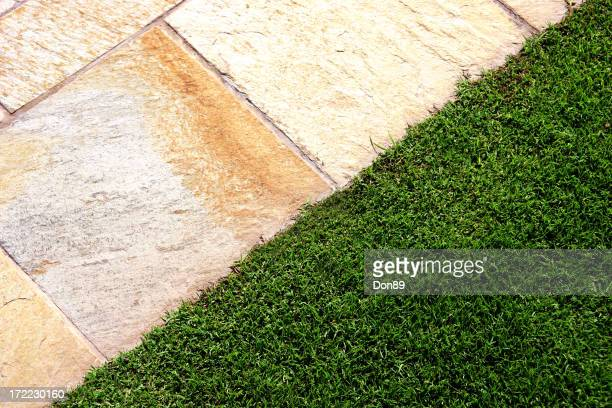 Stone and Lawn