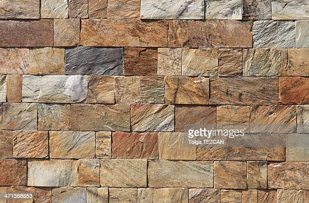 stone block wall background - stone wall stock pictures, royalty-free photos & images