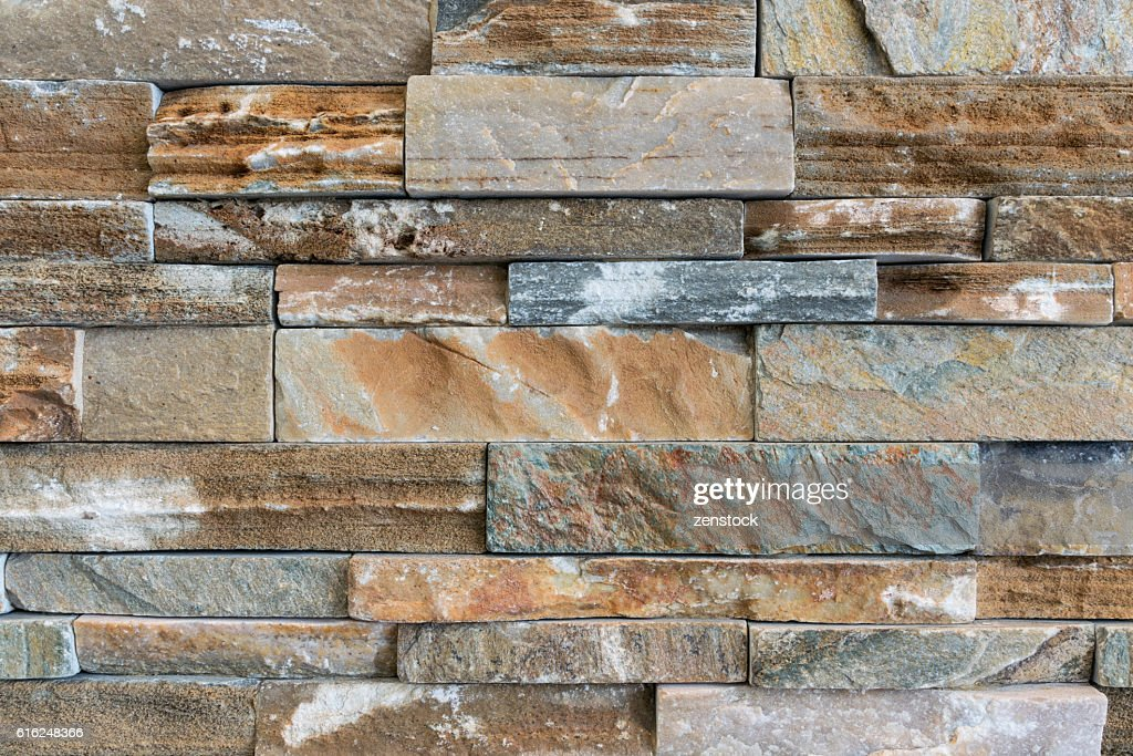 Stone brick texture wall background : Foto de stock