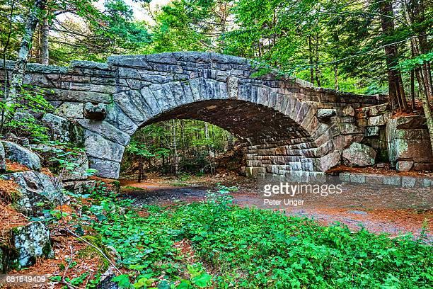 Stone Bridge in Acadia National Park,Maine
