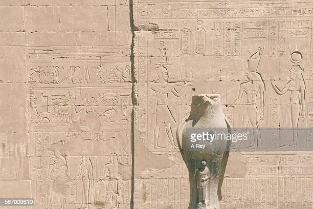 Stone cared eagle