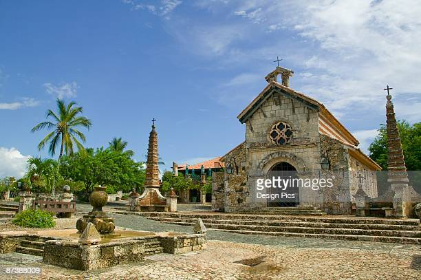 Stone Church in Alto De Chavon, La Romana, Dominican Republic