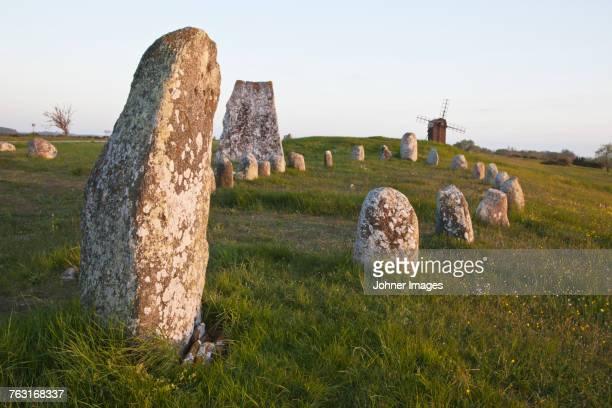 stone circle - エーランド ストックフォトと画像