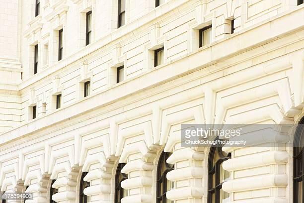 Stone Facade Fairmont Hotel Architecture