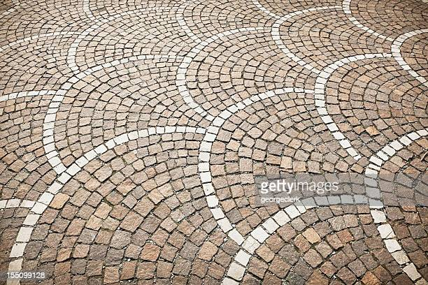 stone floor pattern - mosaic stock photos and pictures