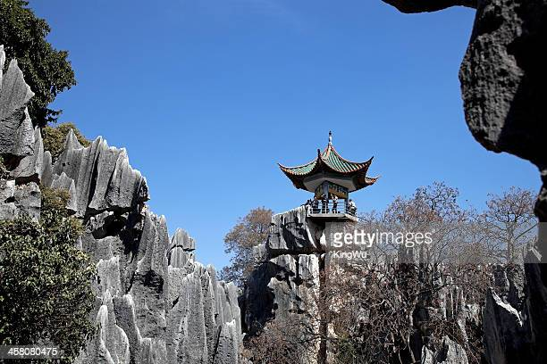 stone forest, kunming, china - kunming stock pictures, royalty-free photos & images
