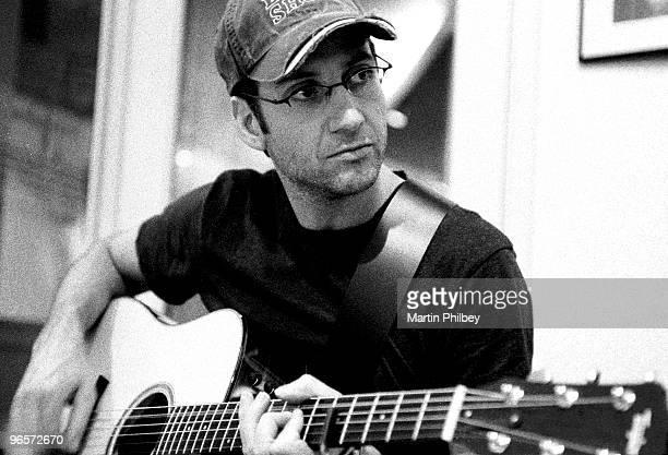 Stone Gossard of Brad in Woodstock Studios on 28th December 2002 in St Kilda Victoria Australia
