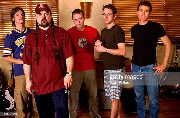 Stone Gossard with Brad in Woodstock Studios on 28th December 2002 in St Kilda Victoria Australia
