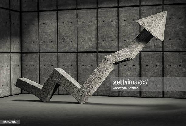 Stone Growth Arrow
