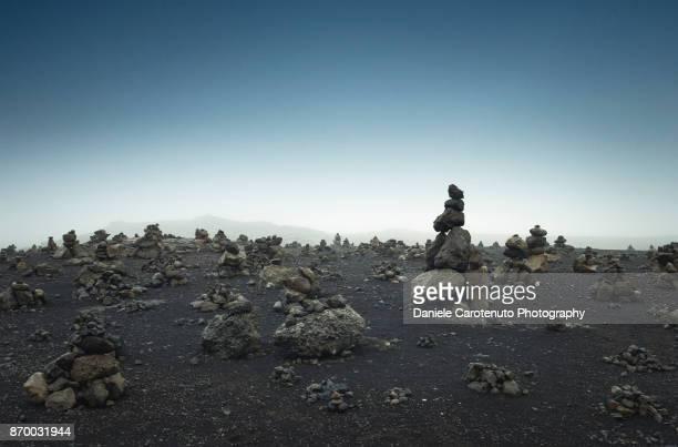 Stone heaps