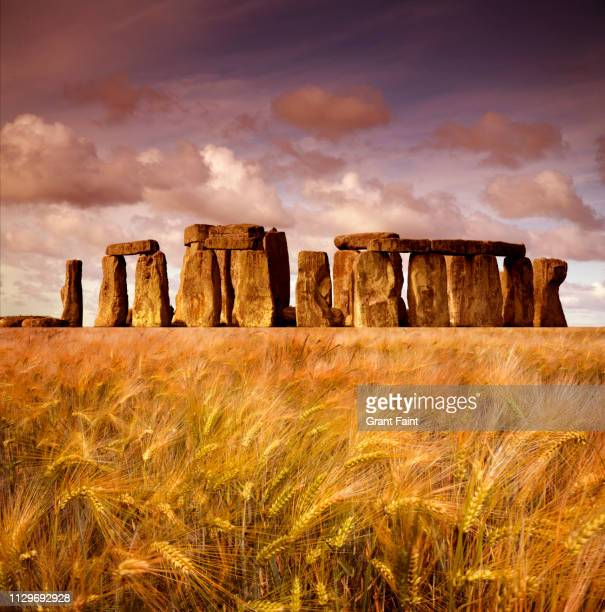 stone henge - monument stock pictures, royalty-free photos & images