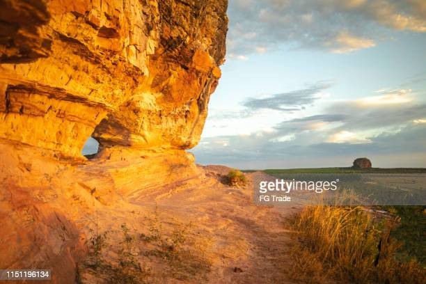 stone hole in jalapão - cerrado stock pictures, royalty-free photos & images