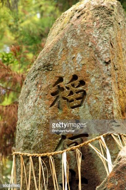piedra en el verde - hunter green fotografías e imágenes de stock