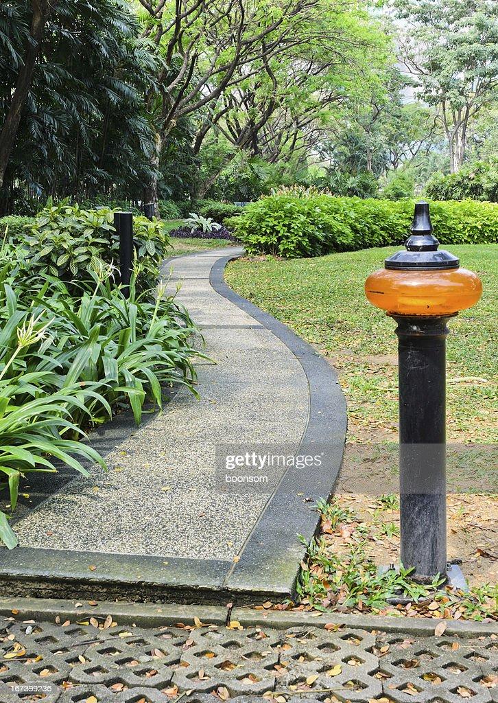 Stone pathway : Stock Photo