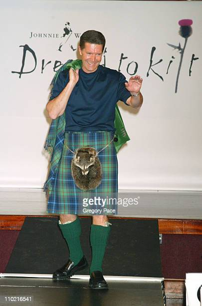 Stone Phillips during Dressed to Kilt A Scottish Evening of Fashion and Fun Runway at Copacabana in New York City New York United States