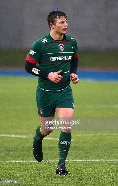 Stone PriestleyNangle of Leicester during the Premiership Rugby/RFU U18 Academy Finals Day match between Leicester and Bath at The Allianz Park on...