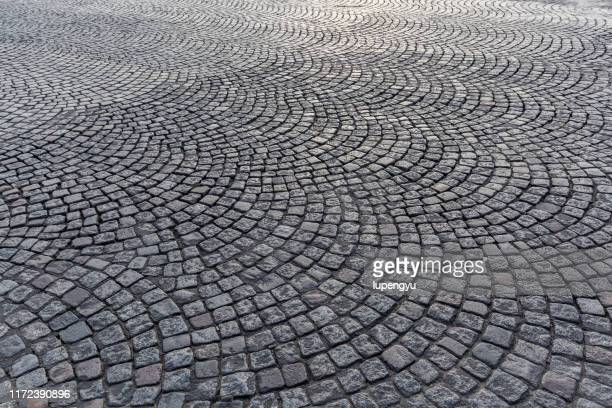 stone roadway - paris rocks stock pictures, royalty-free photos & images