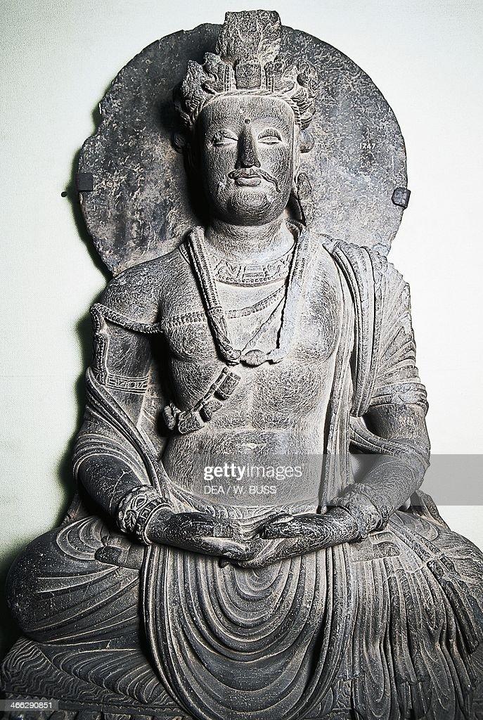 Stone Sculpture Depicting Buddha Gandhara Art Peshawar Paxistan News Photo Getty Images