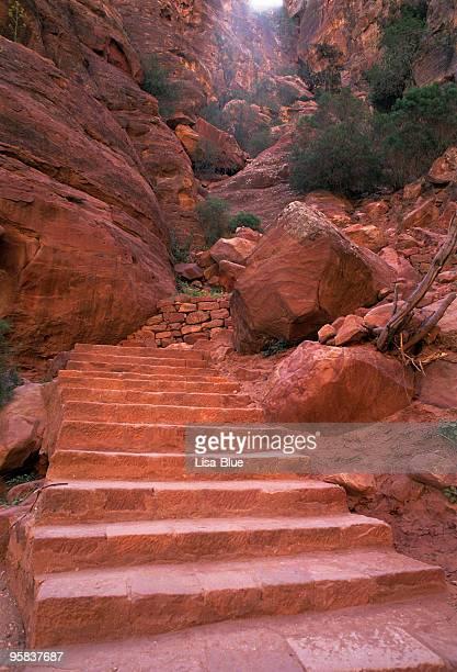 Stone Staircase.Petra.