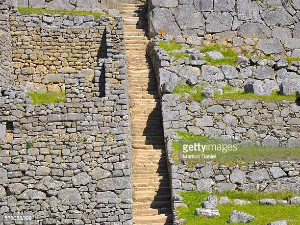 Stone Steps and Stairs in Machu Picchu