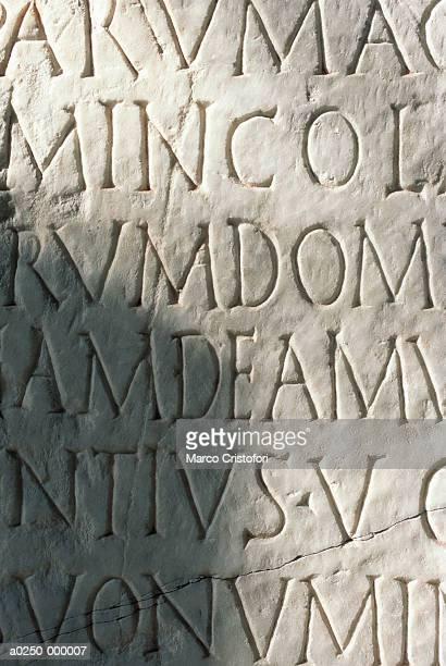 stone tablet - marco cristofori fotografías e imágenes de stock