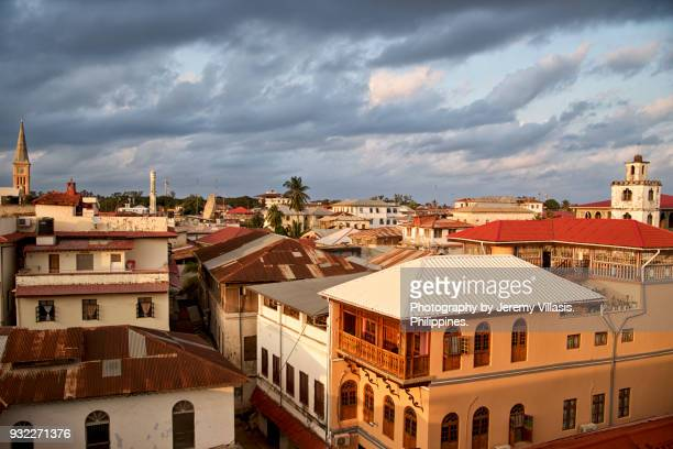 stone town, zanzibar - zanzibar island stock photos and pictures